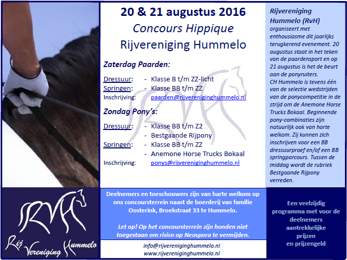 20160811 Flyer CH Hummelo 2016